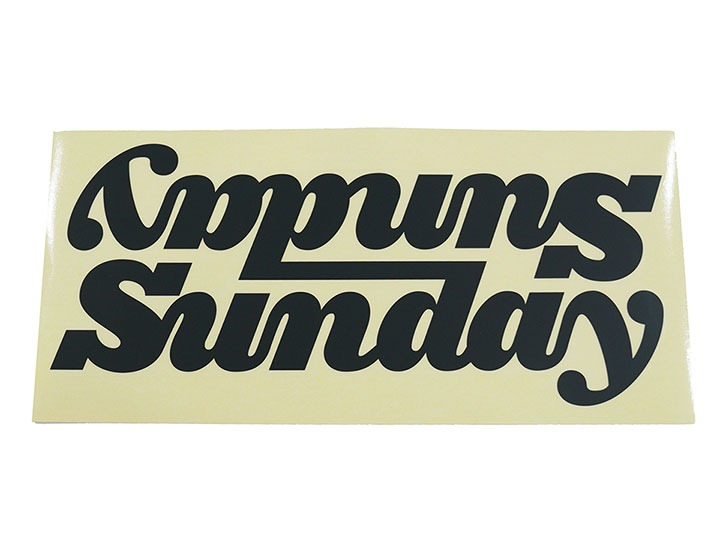 SUNDAY BIG CLASSY CONNECTED DT DECAL - BLACK