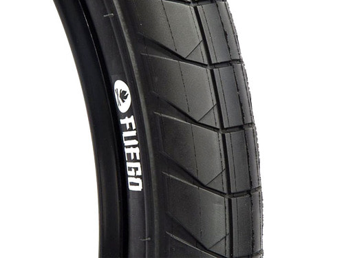 "FUEGO BMX TIRE 2.3"" [Devon Smillie S.G] Black"
