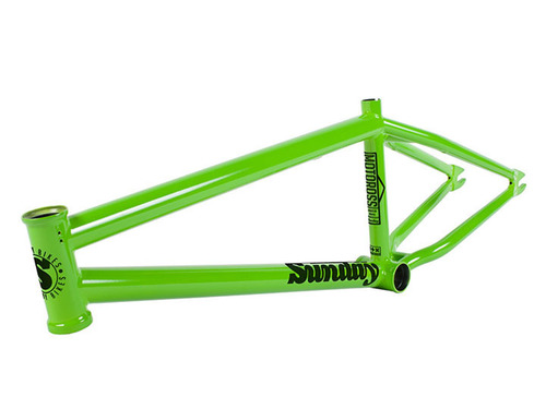 품절 AARON ROSS MOTOROSS V2 BMX FRAME Green