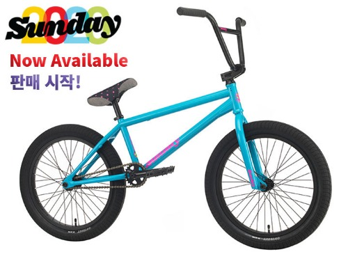 [판매 시작!]2020 선데이 포어케스터 FORECASTER 20.5 TT BMX -Gloss Ocean Blue- (Aaron Ross model)