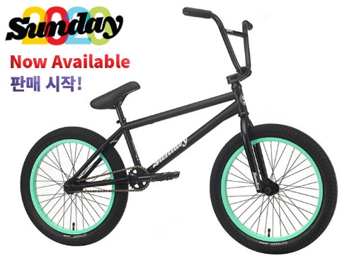 [판매 시작!]2020 선데이 포어케스터 FORECASTER 20.75TT BMX -Matte Black- (Alec Siemon model)