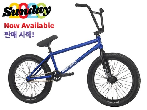 [판매 시작!]2020 선데이 사운드웨이브 스페셜 SOUNDWAVE SPECIAL 21TT BMX -Matte Notepad Yellow- (Gary Young model)