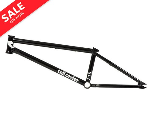 [품절]TALL ORDER 215  V2 BMX FRAME 20.6TT -Gloss Black-