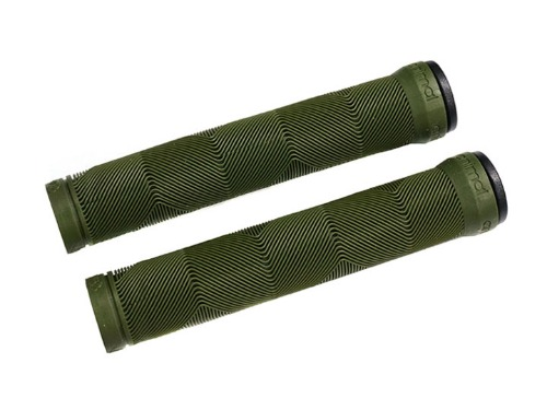 ANIMAL EDWIN V2 GRIPS Flangless 165mm Olive Green