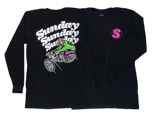 SUNDAY LONG WEEKEND SHIRT Black -XXL-