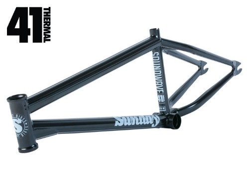 [재입고]SUNDAY SOUNDWAVE V3 BMX FRAME Rust Proof Black [20.5TT / 20.75TT]