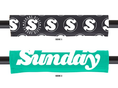 SUNDAY REVERSIBLE BAR PAD -Sweeper/S-Logo-