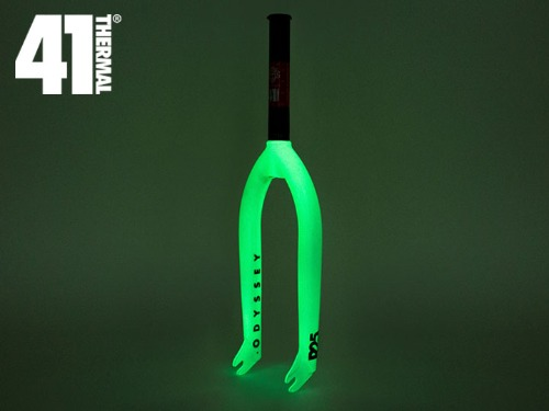 [41-Thermal® 20th] ODYSSEY R25 BMX FORK -Glow in the Dark-