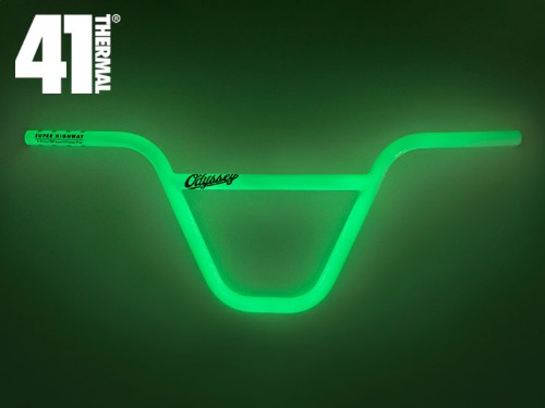 "[41-Thermal® 20th] ODYSSEY SUPER HIGHWAY BAR 9.5"" -Glow in the Dark-"