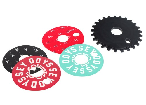 [재입고]ODYSSEY DISCOGRAM SPROCKET 25T -4 Decals-