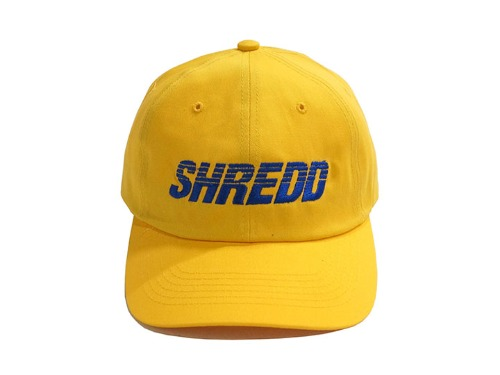 SHREDD 6 PANEL BALL CAP V3 -Yellow-