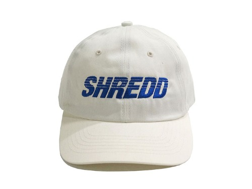 SHREDD 6 PANEL BALL CAP V3 -White-
