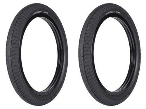 "ODYSSEY PATH PRO RAW BMX TIRE 2.4""[2개 패키지]"
