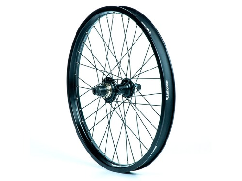 TALL ORDER Dynamics Cassette Wheel -All Black With Silver Spoke Nipples-