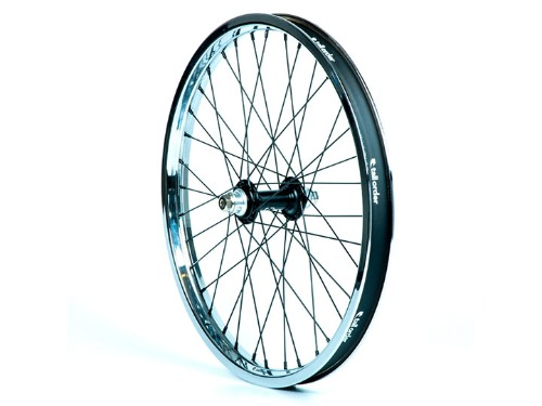 TALL ORDER Dynamics Front Wheel -Black Hub With Chrome Rim-