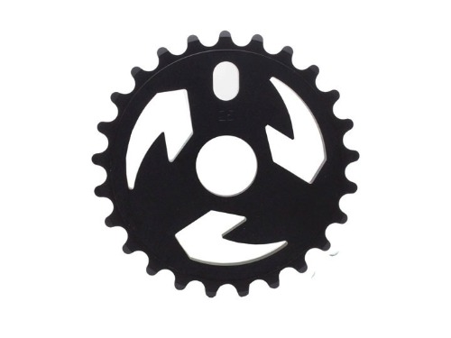 TALL ORDER LOGO SPROCKET -Black- [28T]