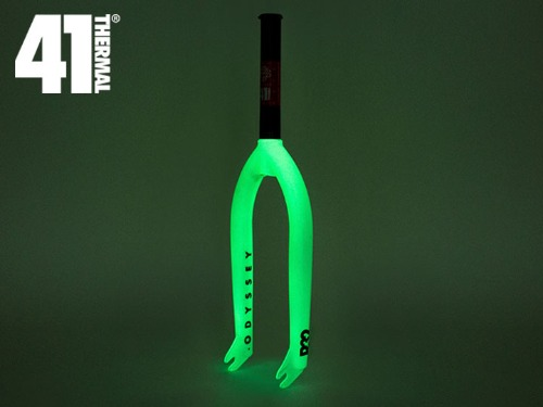 [41-Thermal® 20th] ODYSSEY R32 BMX FORK -Glow in the Dark-
