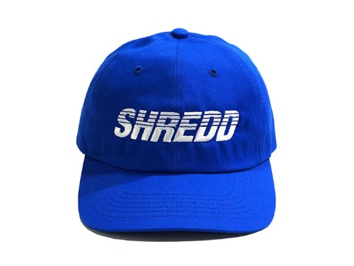 SHREDD 6 PANEL BALL CAP V3 -Blue-